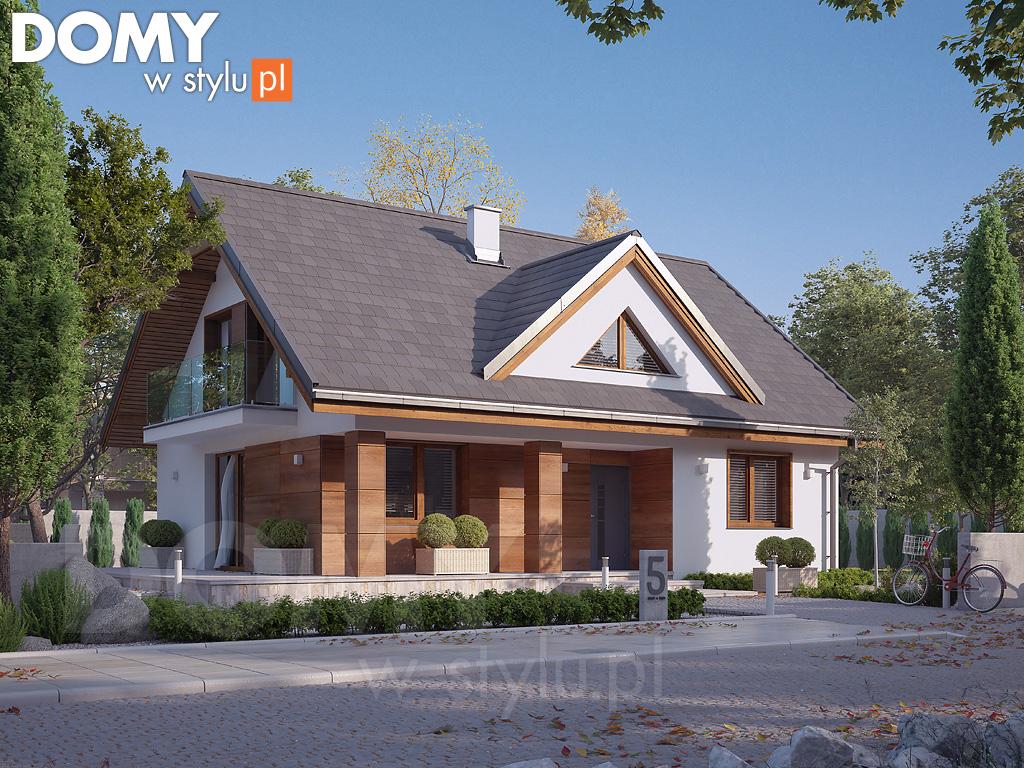 nowoczesny projekt domu 3D